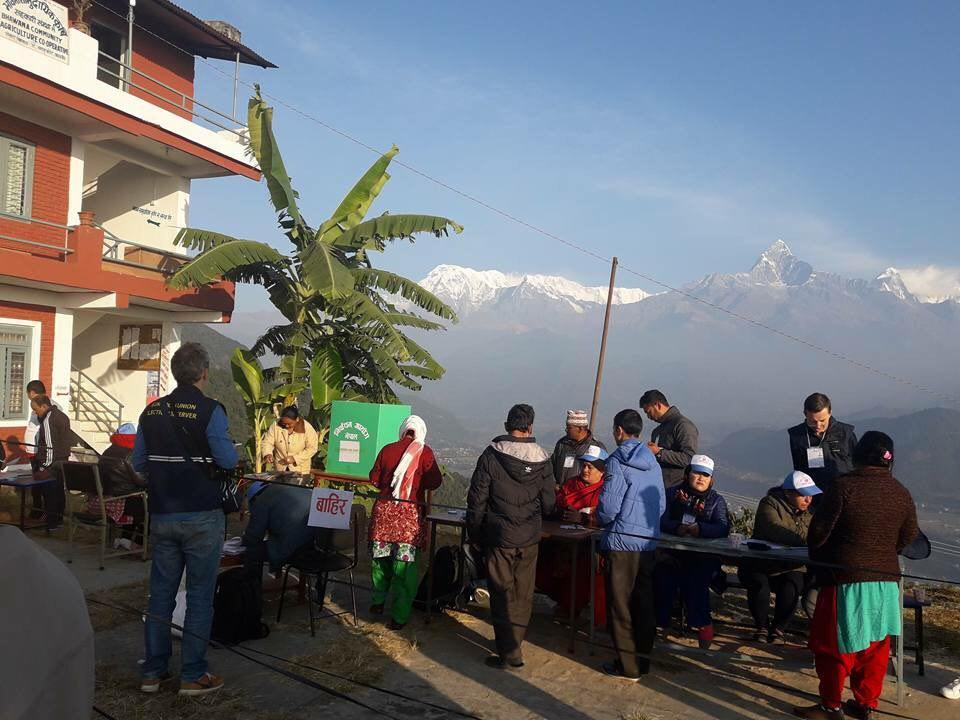 Historic elections in Nepal