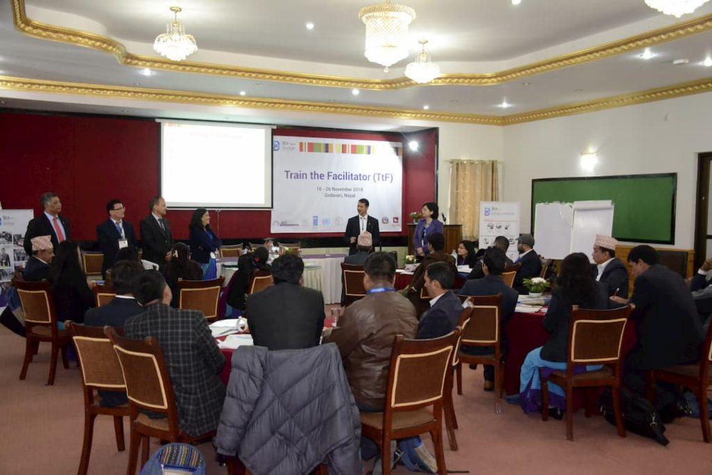 Story: using BRIDGE to capacity development Nepal