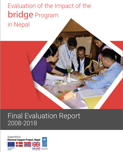 ec undp jtf nepal resources publications bridge evaluation report