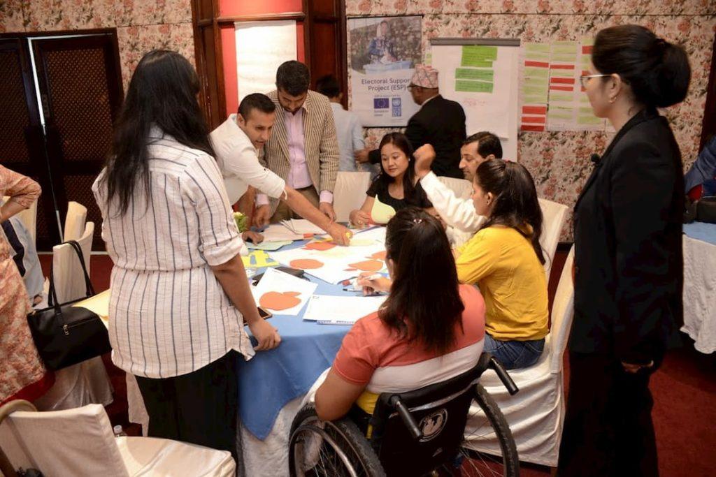 UNDP electoral assistance project disability workshop