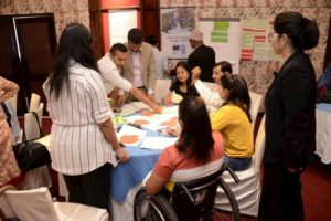 UNDP electoral assistance project disability workshop